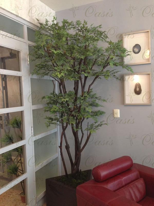 Oasis decoraci n y jardiner a rboles artificiales en for Decoracion de interiores monterrey